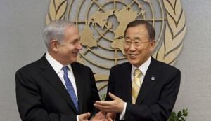 netanyahu_Ban Ki-moon