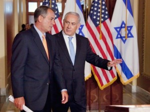 boehner-netanyahu-flags-congress