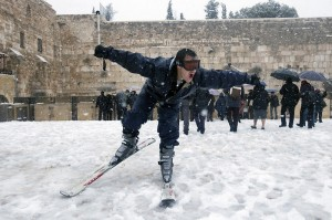 skiing_western_wall